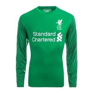 2017 Cheap Goalie Jersey Liverpool FC LS Home Replica Shirt [AFC381]