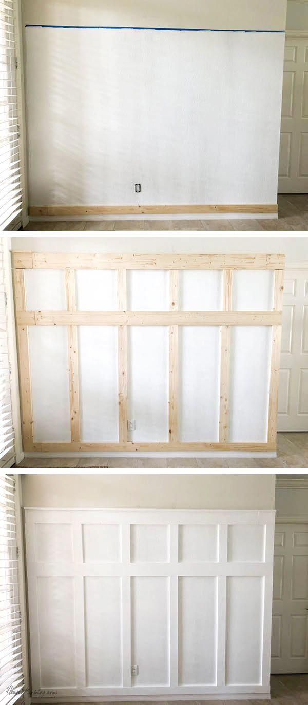 Ask Yourself Why Am I Developing Something 10 Feet Broad If Plywood Can Be Found In 4 Foot Wide Sheets Says Lisa St Home Remodeling Diy Diy Entryway Home