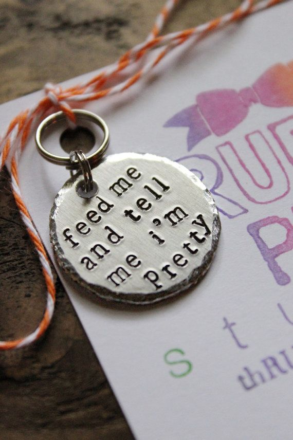 RUDEdog pet ID tags from thRUFFty Pup are a hilarious way for your pets to speak for themselves. These are made especially for pets (and owners) who