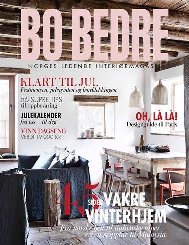 Abonner på Bo Bedre fra Bladkongen. Om denne nettbutikken: http://nettbutikknytt.no/bladkongen-no/