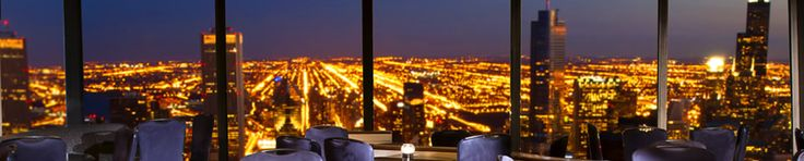 Around sunset, head up to the Signature Lounge at the 96th in the Hancock. During the summer, you can catch the fireworks at Navy Pier as you get off the elevator. And the bathrooms have the best view!