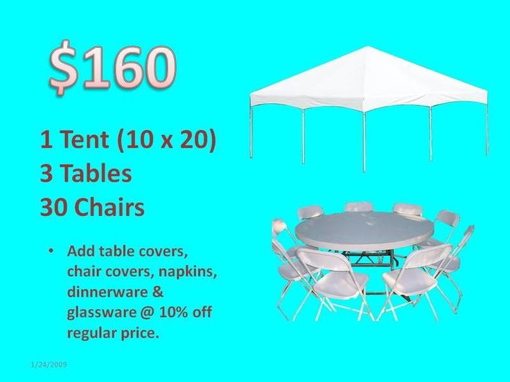 Tents for Rent - Rental Tents - Rent Tables and Chairs - Miami Party Rental Tents Tables and Chairs - Wedding Tents - Event Tents