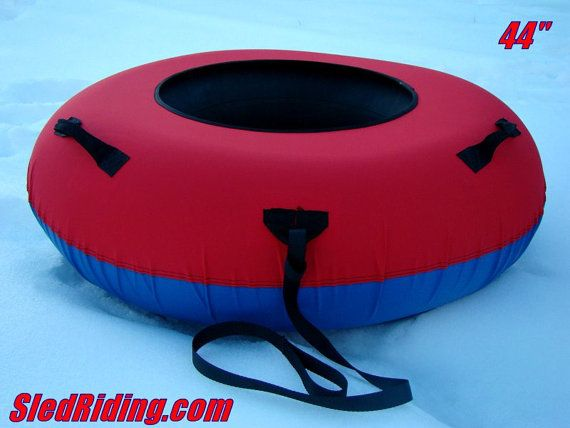 44 Inch Huge Custom Commercial Quality Snow Tube by the Sled Riding Store at http://store.sledriding.com   #Sleds #Sledding #ExperienceWinter  #SnowTube  #SnowTubing