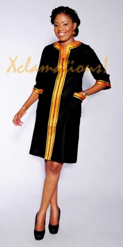 BLACK OPRAH DRESS