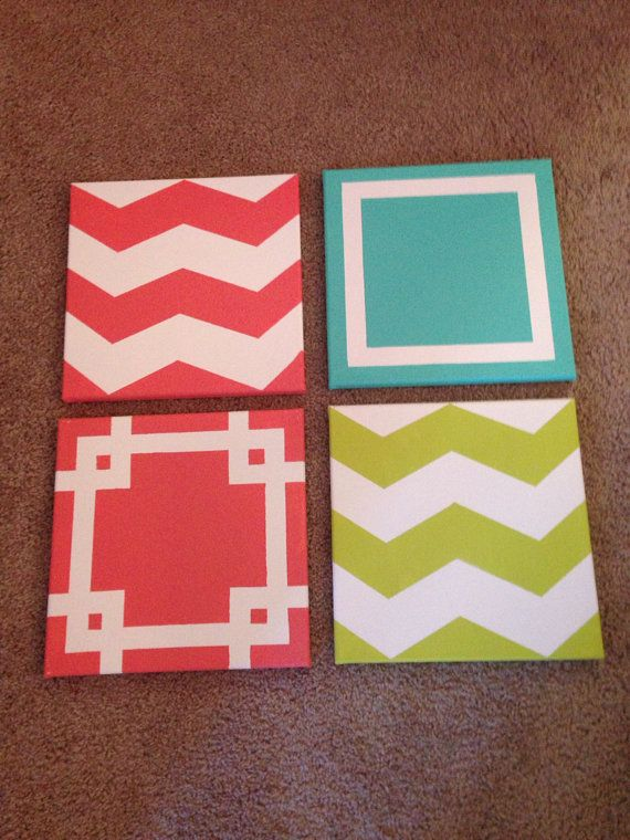 """12"""" by 16"""" Made-to-Order Canvas Paintings - Select Designs - Any Color"""