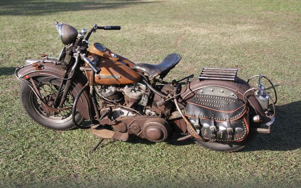 Vintage 1948 Harley-Davidson Panhead | Motorcycle Reviews, Forums ...