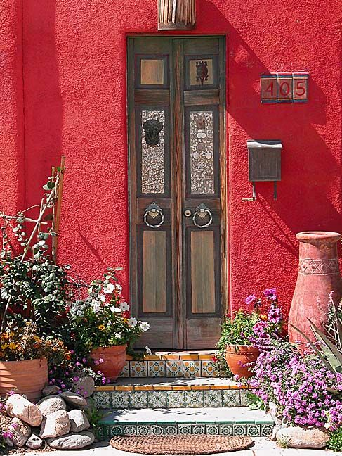Doorway and Steps ........NOT AN ENTRY FOR A - HOOP SKIRT - ….SKINNY FLAPPERS ARE O.K…………ccp