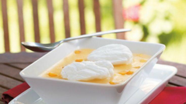 A hét kedvenc levese: őszibarackleves habgaluskával