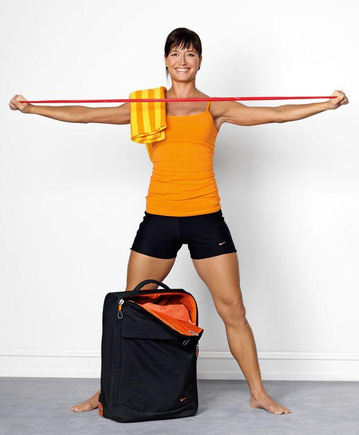 Vil du holde formen mens du er på reisefot eller trene hjemme? Vi har løsningen: Bruk treningsstrikk!