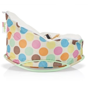 The Chibebe Serendipity Dots design.....Australias Favorite Baby Beanbag design of 2012!