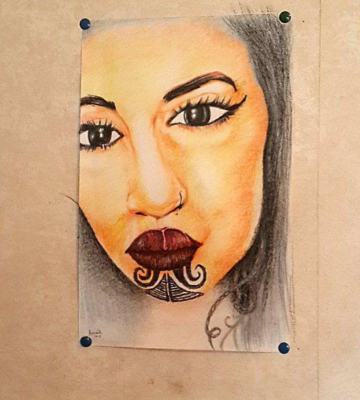 Portrait Anonymous Model