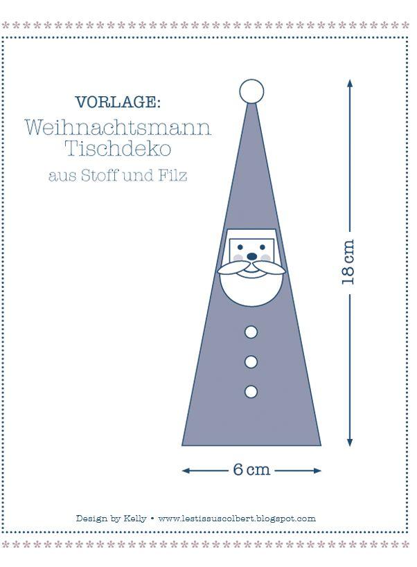 Ein stimmungsvolles Weihnachtsessen mit Türchen N° 5 – ein DIY von Kelly   ★Les Tissus Colbert