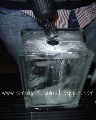 Vinyl for Glass Blocks Designs | Simply Designing with Ashley: Christmas Glass Blocks