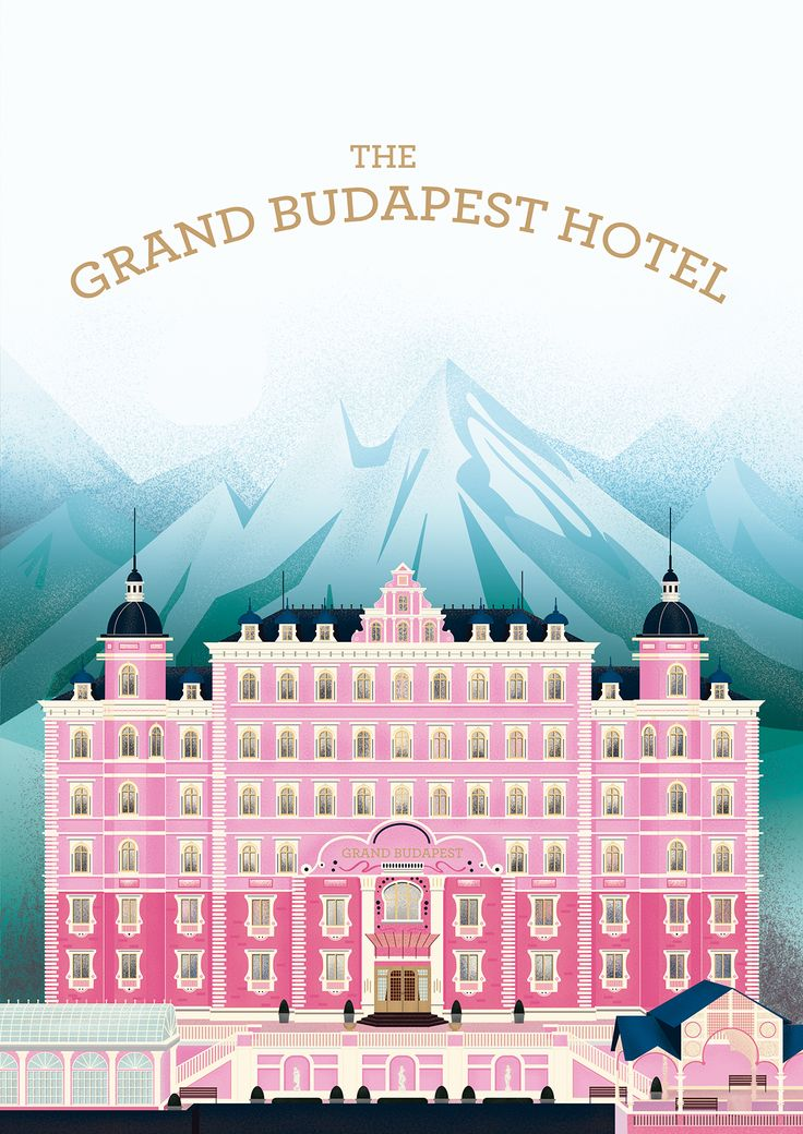 The Grand Budapest Hotel on Behance