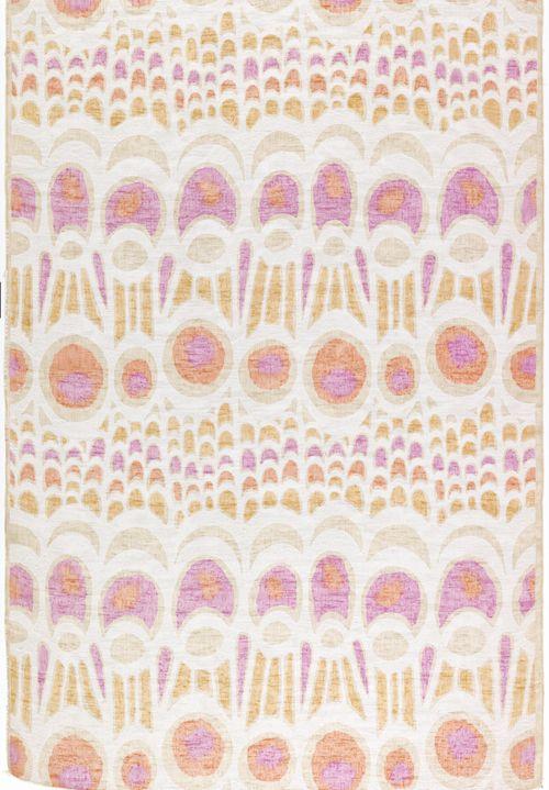 Eleanor Kluck, textile design Papilio, 1968. Linen, screen printed. Elenhank Design, USA