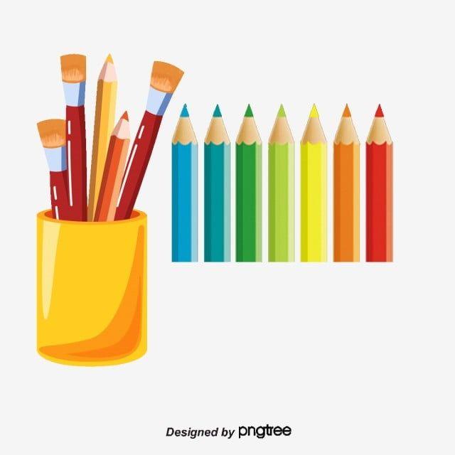 لون الكرتون قلم قصاصات فنية ملونة أقلام ملونة قلم ألوان Png وملف Psd للتحميل مجانا ด นสอส ภาพประกอบ ภาพวาด