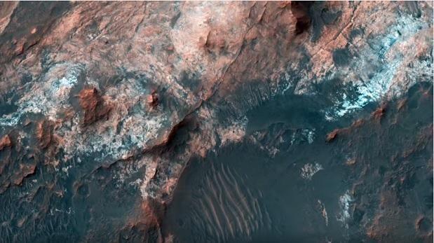 Video de la NASA muestra imágenes inéditas de Marte