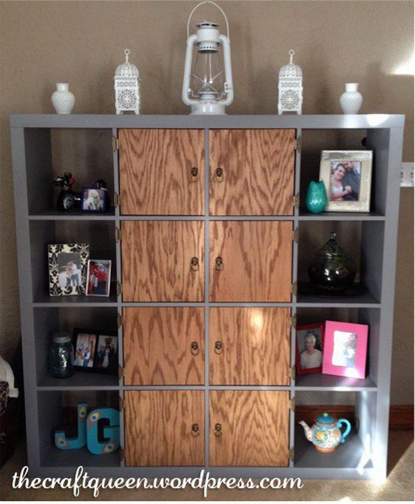 Ikea Expedit Kitchen: Shabby Chic Kallax/ Expedit Makeover. Get The Tutorial