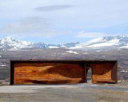Norwegian wild reindeer Pavillon - Snøhetta