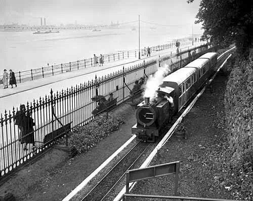 Tommy Mann's miniature railways,  New Brighton prom.