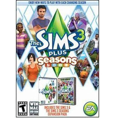 The Sims 3 Plus Seasons Windows OSX Tiger Mac $42.79 Amazing Discounts Your #1 Source for Video Games, Consoles & Accessories! Multicitygames.com Click On Pins For More Info