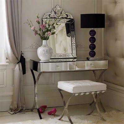 Vanity dressing table.