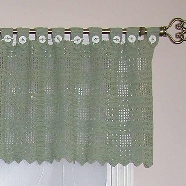 43 Best Thread Crochet Curtains Images On Pinterest Net Curtains