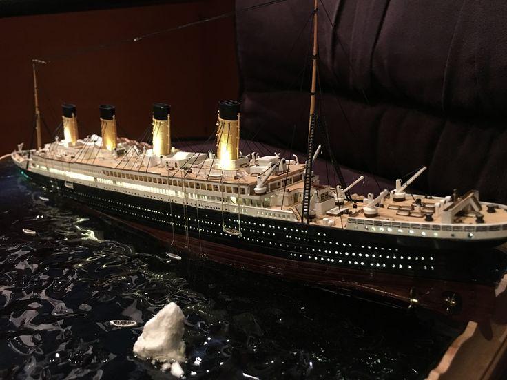 Titanic Sinking Diorama Model Scale  #Titanic#Sinking#Diorama#model#scale