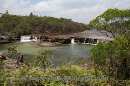 Fruit Bat Falls, Cape York Australia - It was so relaxing here and at Elliott falls and Sams creek too !!