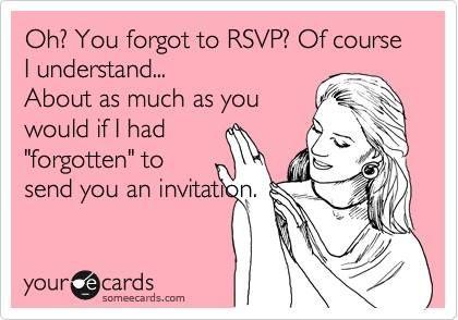 20 best Wedding Humor images on Pinterest Wedding humor, Wedding - rsvp e cards