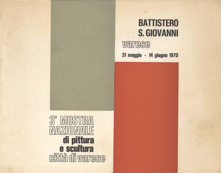 Catalogo Mostra  3° mostra nazionale, 1970 Varese