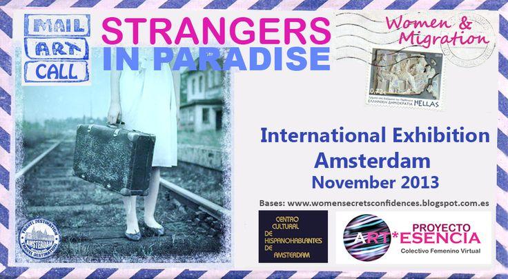 MAIL ART MUJER Y MIGRACION PROMO Proyecto Internacional de arte postal sobre la mujer #mundoemprendedor