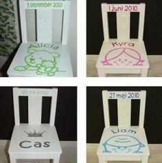 Geboortestoeltje jongen of meisje   Geboorte stoeltjes, spiegels, bewaardozen...   Trendy Kinderkamer