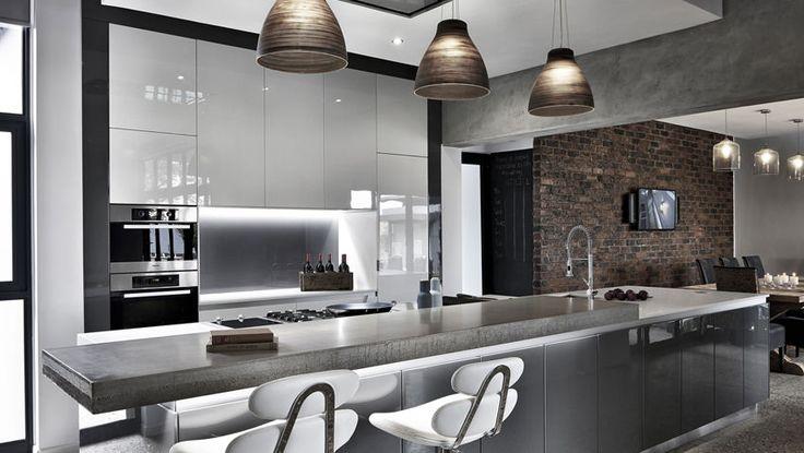 Modern high-end kitchen by blu_line in the wood estate | Johannesburg #modern #kitchen #interiors