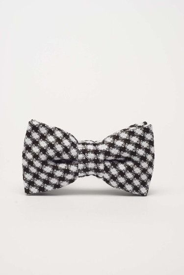 Czarno-biała muszka dla chłopca - sklep Style To Go