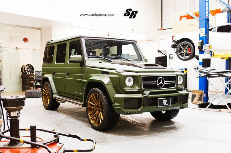 Military Green Brabus G63 1 175x175