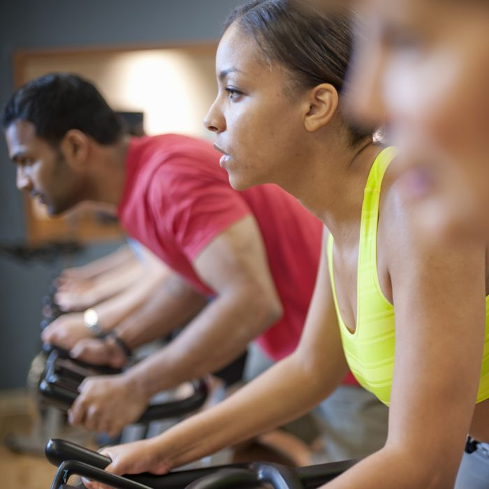 Spinning is still safe for Prenatal Exercise, with some modifications