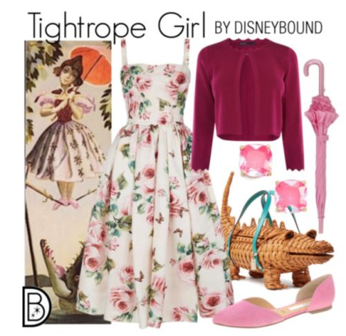 Tightrope Girl - Haunted Mansion | DisneyBound