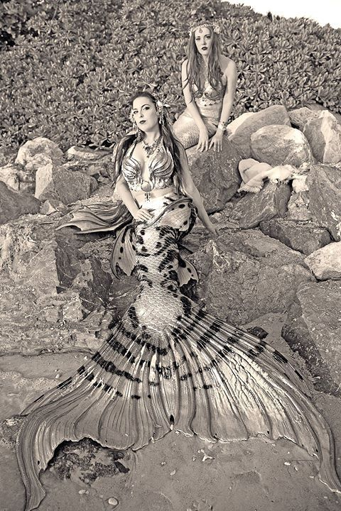 The Aries Witch ♈ merbella studios inc silicone mermaid tails, tops and accessories - Mermaid Raven - Mermaid Raina Halifax Mermaids