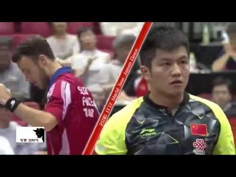 핑퐁코리아 2016 일본오픈탁구 준준결승 판젠동vs시몽 Japan Open 2016 QF FAN Zhendong vs GAUZY ...