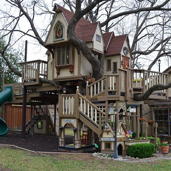 Grandparents Build Amazing Treehouse