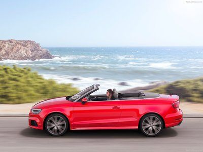 Audi A3 Cabriolet 2017 poster, #poster, #mousepad