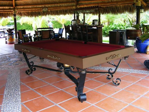 Century Billiards & Gameroom Outdoor Pool Tables