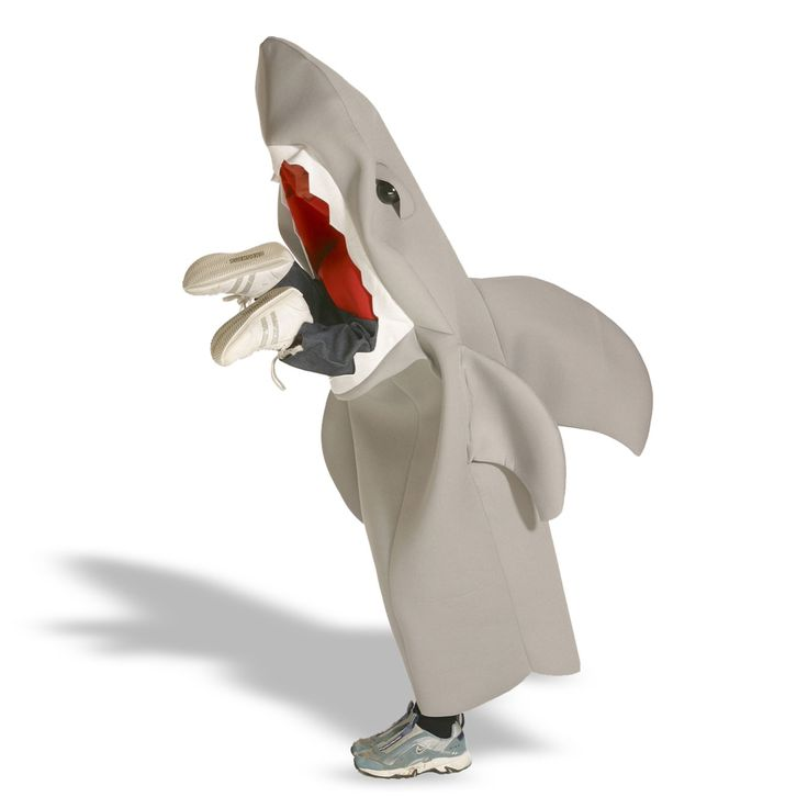 LIL' MAN EATING SHARK CHILD COSTUME Unisex Under the Sea Kids Theme Halloween | eBay