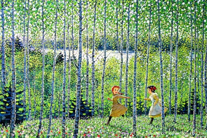 Anne and Diana, Anne of Green Gables illustration