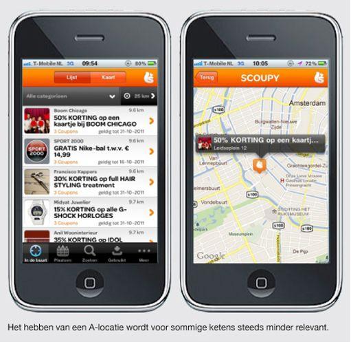 INSTANT REWARD WHILE SHOPPING: Localisatie.., in 2012 gaan we via inchecken (en ergens de mayor van worden) naar direct incentives: op de plek waar jij winkelt speciale 'op-maat' aanbiedingen ontvangen van winkels en restaurants in de buurt, alleen als jij het wilt natuurlijk, dus geen mobiele spam....   Kijk ook op: http://zomerinhuis.wordpress.com/2012/07/16/loca