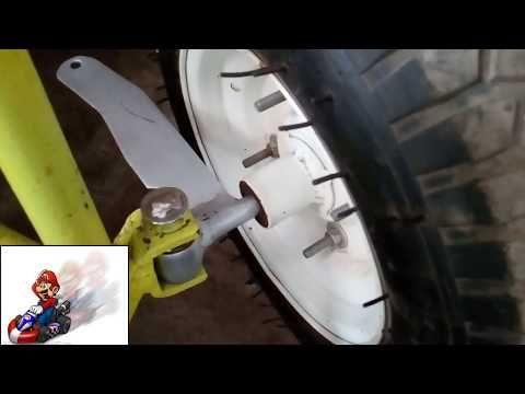 tutorial brazos de direccion go kart 1/2 go kart steering - YouTube