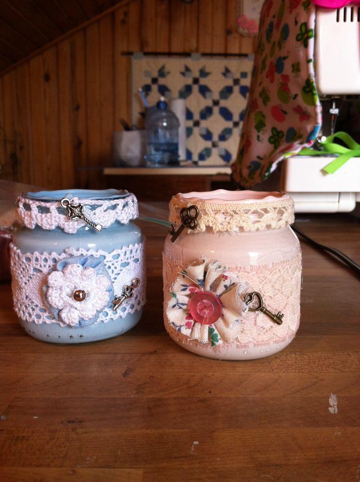 Baby food jars craft ideas pinterest food jar jar for Baby food jar crafts pinterest