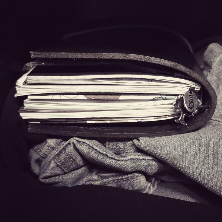 Varför jag började att göra egna Travelers Notebooks och dotted anteckningsböcker