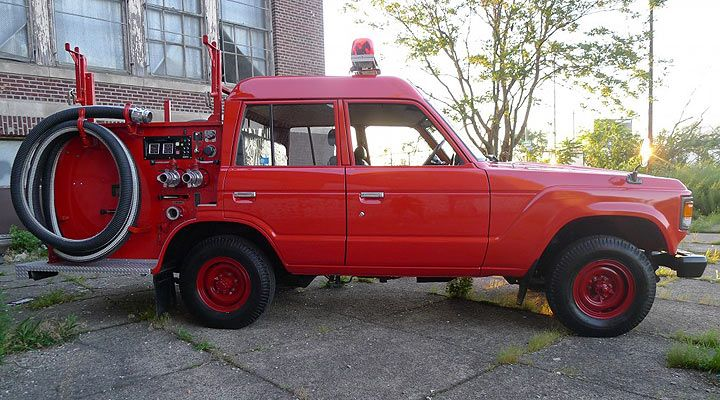 This Toyota Land Cruiser is a Serious, Go-Anywhere Firetruck – Toyota News